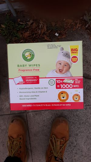 Pampers baby dry & baby wipes for Sale in Torrance, CA