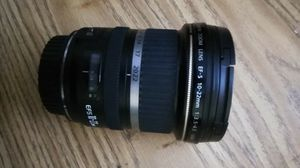 Canon 10-22mm lens very good condition for Sale in Hacienda Heights, CA