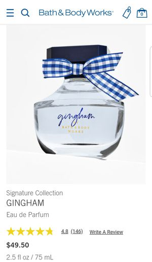 NEW Bath and Body Works Gingham perfume for Sale in Mukilteo, WA