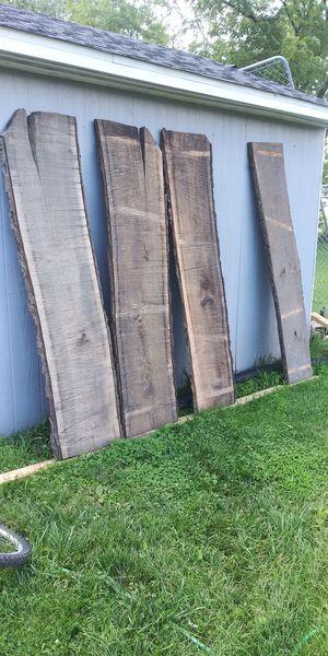 Cherry, walnut, oak live edge slabs for Sale in East Moline, IL