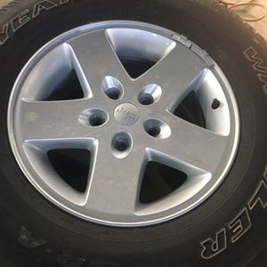 Jeep Wrangler JK Wheels Tires And Adapters for Sale in Hampstead, MD