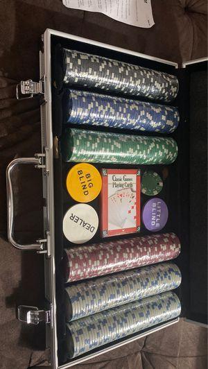 Poker Chip Set for Sale in Tempe, AZ