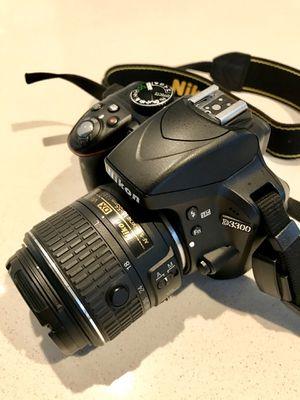 Nikon D3300 DSLR Camera + 2 lenses + extras **LIKE NEW** for Sale in Portland, OR