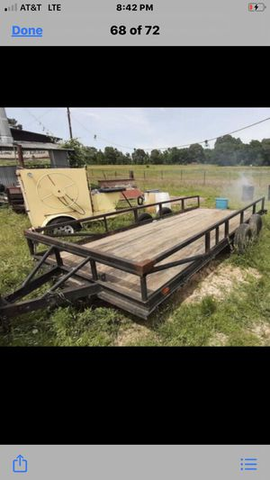 Trailer 7X15 dual axle(homemade) for Sale in Fort Worth, TX