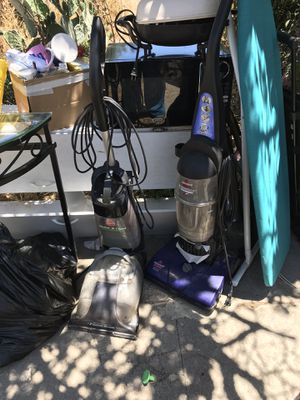 Carpet cleaner and vacuum for Sale in Riverside, CA