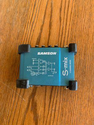 Samson S Mix 5 channel mixer for Sale in Phoenix, AZ