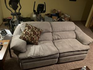 Couch and Chair with Mechanical FootRests for Sale in Blacklick, OH