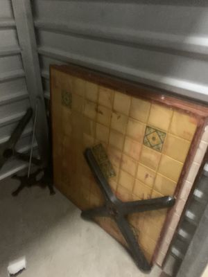 2 heavy restaurant tables. for Sale in Tampa, FL