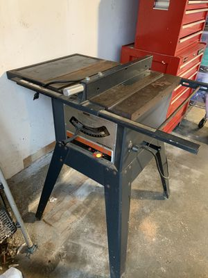 Table saw for sale! for Sale in Castro Valley, CA