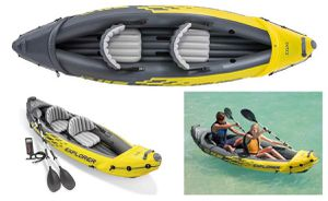 Two seat inflatable kayak $50 for Sale in Lakewood, WA