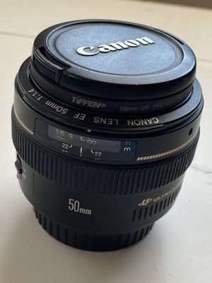 Canon EF 50mm f/1.4 USM for Sale in San Francisco, CA