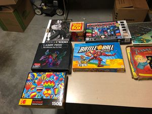 Board games and puzzles $5 each for Sale in McKinney, TX