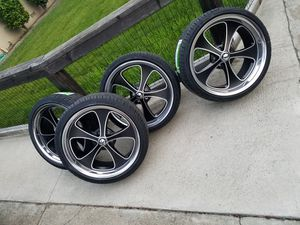 "20"" RIDLER WHEELS FOR ALL OLD SCHOOL CARS for Sale in San Francisco, CA"