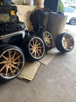 """19"""" Rims with Tires for Sale in West Hempstead, NY"""