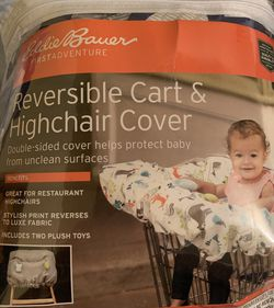Reversible Cart And High Chair Cover Brand New Never Used for Sale in Perth Amboy,  NJ