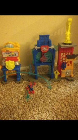 Spiderman imaginext set for Sale in Costa Mesa, CA