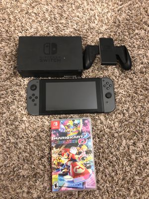Nintendo Switch with Mario Kart for Sale in Fort Worth, TX