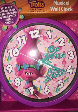 Trolls Wall Clock for Sale in Port St. Lucie, FL