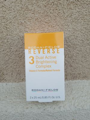 Rodan and Fields Reverse Dual Brightening Conplex. Step 3 BNIB for Sale in Beale Air Force Base, CA
