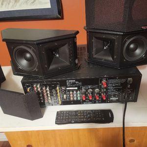 Klipsch Speakers,,Yamaha Receiver for Sale in Phoenix, AZ