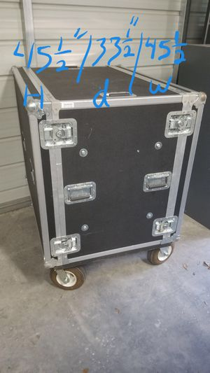 Large storage cabinet on wheels $225 for Sale in Mulberry, FL