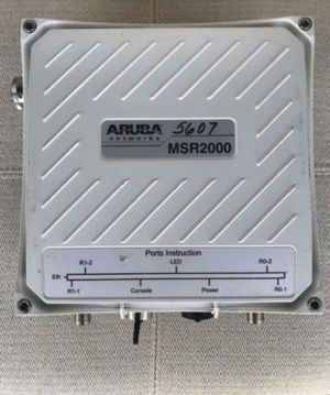 Aruba router MSR2000 for Sale in Riverside, CA