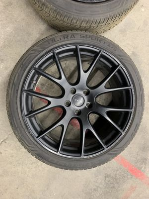UFO 8872 wheel with tire for Sale in Sacramento, CA