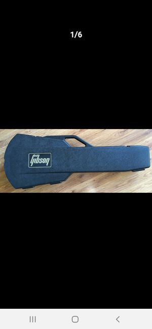 Gibson Chainsaw Peotector Case for an SG guitar for Sale in Fremont, CA