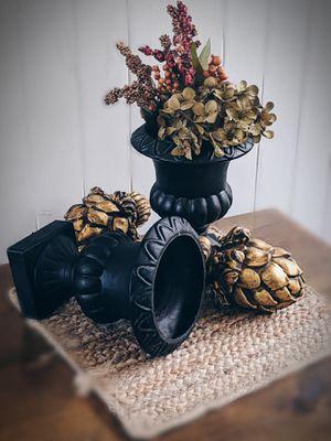 Black Decorative Urns for Sale in Alexandria, LA