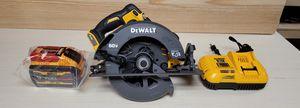 """Dewalt Flexvolt 7 1/4"""" Circular Saw Kit DCS578 for Sale in Lawrenceville, GA"""