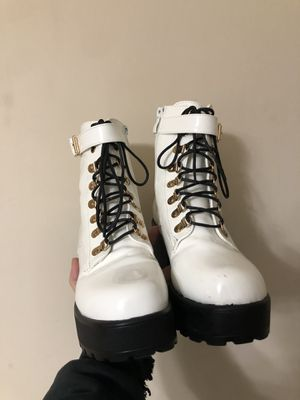 white boots for Sale in Sanford, NC