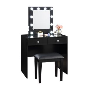 🔥New! Hollywood Black Vanity set for Sale in Escondido, CA