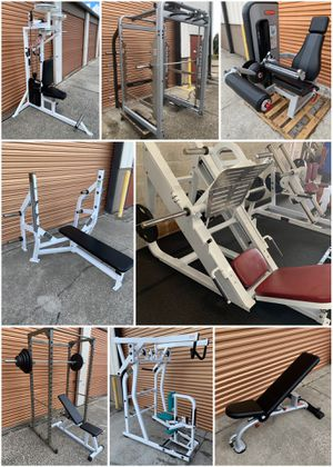 Commercial Gym Equipment, Squat Racks, Dumbbells, Olympic Weight Benches, Plates for Sale in Orlando, FL