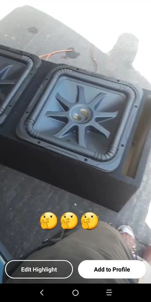L7 15s newer kickers for Sale in Antioch, CA