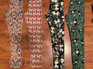 Lularoe one size leggings Disney Mickey thumper Minnie for Sale in Denair, CA