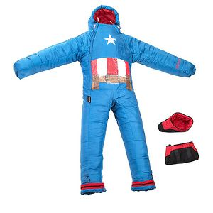 Captain America selk Bag - sleeping bag for Sale in Pasadena, CA