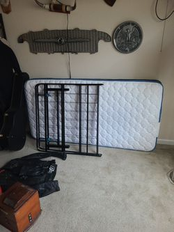 Twin Bed With The Frame for Sale in Orlando,  FL
