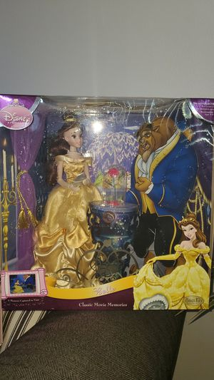 Disney Princess Beauty and the Beast Belle Porcelain Doll - Brass Key Keepsake for Sale in Tustin, CA