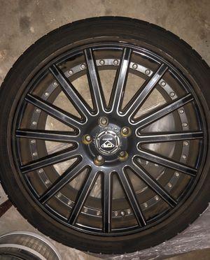 Dcenti 18 inch racing rims for Sale in Boca Raton, FL