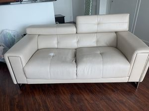 Beige 3 piece sofa / couch and chair set- amd misc furniture FREE!!!! MUST BE PICKED UP July 19 , 9-12 for Sale in Miami, FL
