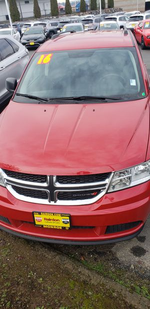 2016 Dodge Journey 33k miles on it!! for Sale in Snohomish, WA
