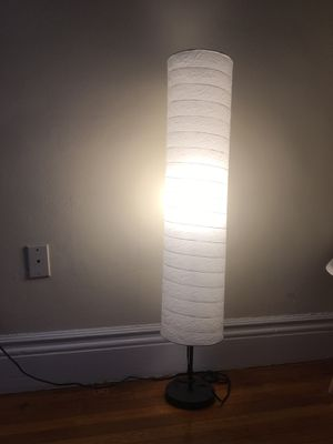 Ikea white floor lamp for Sale in Boston, MA