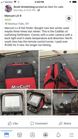 Marcum fish finder for Sale in Erin, NY