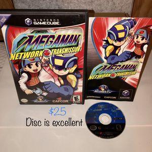 Mega-Man NETWORK TRANSMISSION — GameCube game for Sale in Cerritos, CA