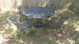 Vintage Iron Patio Furniture for Sale in Tarpon Springs, FL