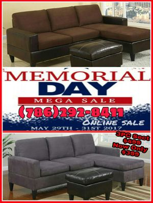 🎈🎈3PC Reversible Sectional🎈🎈 for Sale in Hialeah, FL