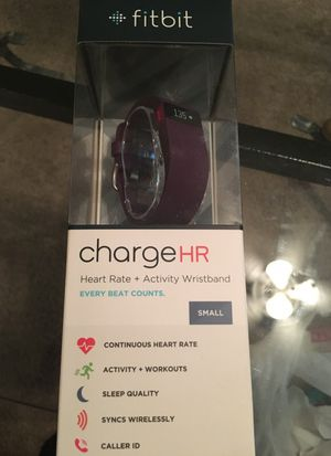fitbit chargeHR for Sale in Phoenix, AZ