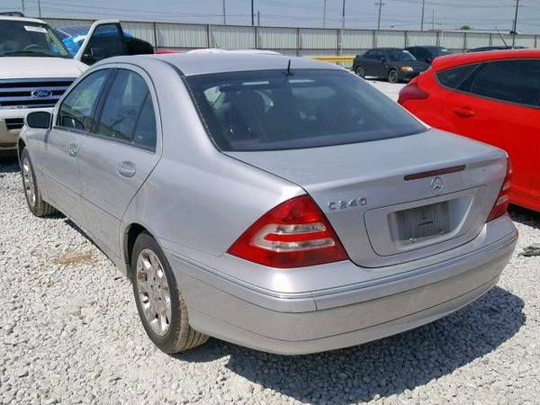Miraculous 2005 Mercedes W203 C240 For Parts Parting Out C320 C230 C Class For Sale In Dallas Tx Offerup Door Handles Collection Olytizonderlifede
