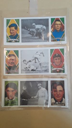 6. 1912 baseball cards .. Hassan cork tip cigarettes.. for Sale in Layton, UT