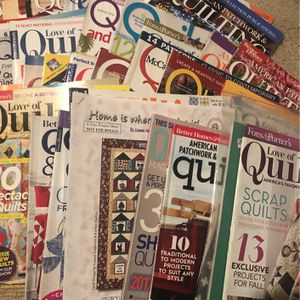 Quilting Magazines for Sale in Pasadena, CA